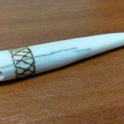 Брелок фрагмент клыка моржа 02 1000