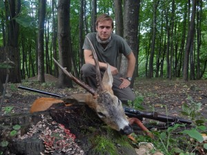 European roe deer Европейская косуля 003